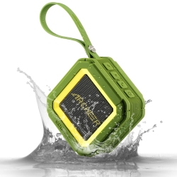 Archeer A106 Outdoor Portable Bluetooth Speakers with IPX5 Waterproof, Mini Shower Speaker with 20 hour Playtime, Powerful 5W Driver with Enhanced Bass, Built-in Mic